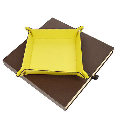 Authentic LOUIS VUITTON Jewelry Tray Case Yellow France Novelty BT12279
