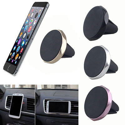 Universal Car Air Vent Magnetic Holder Mount Cradle Stand For IPhone GPS Silber Gps Air Vent Mount