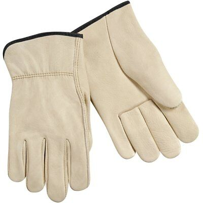Drivers Straight Thumb - Steiner 0281-L Drivers Gloves, Individual Grain Cowhide Unlined Straight Thumb