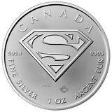 2016 Canada $5 1 oz. Silver Superman GEM BU SKU41395