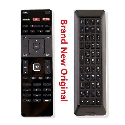 BRAND NEW ORIGINAL VIZIO XRT500 SMART LED HDTV Keyboard REMOTE CONTROL W NETFLIX