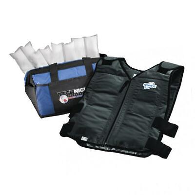 Techniche TechKewl Phase Change Cooling Vest with Inserts and Cooler - -