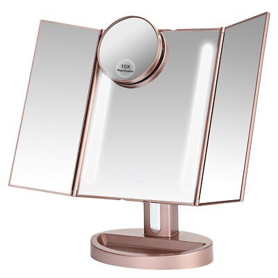 Leju Makeup Mirror   Natural Daylight Lighted Vanity Mirror With Touch Screen