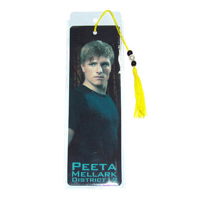 "The Hunger Games Peeta Mellark District 12"" Bookmark"