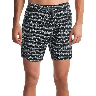 Volcom Mens Remote Print Above Knee Board Short Swim Trunks BHFO 9274