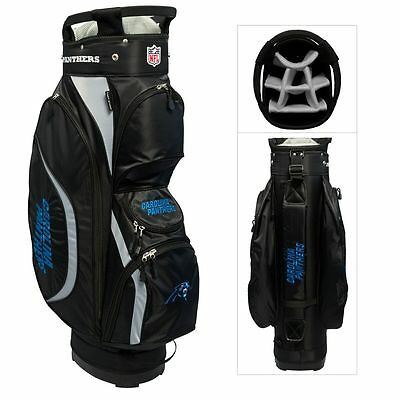 New NFL Team Golf Carolina Panthers Clubhouse Golf Cart (Carolina Panthers Golf Cart Bag)