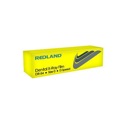 Dental X-ray Film Platinum D Speed Size0 Periapical Redland -fda