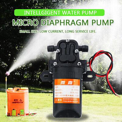 Dc12v 70psi 3.5lmi Electric Diaphragm Water Pump Self Priming High Pressu