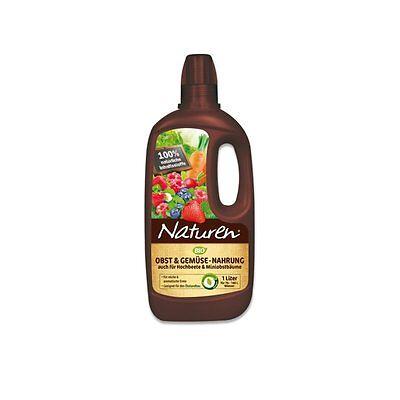 Naturen Frutales y Verduras Alimentos 1 Litros - Fruit Abono Vegetal Abono