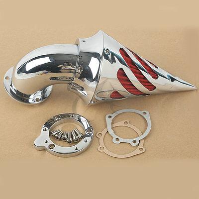 Spike Air Cleaner Intake Filter For Harley Davidson S&S EVO CV Custom Sportster