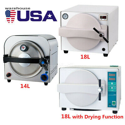 14l18l Dental Lab Medical Autoclave Steam Sterilizerwith Drying Function