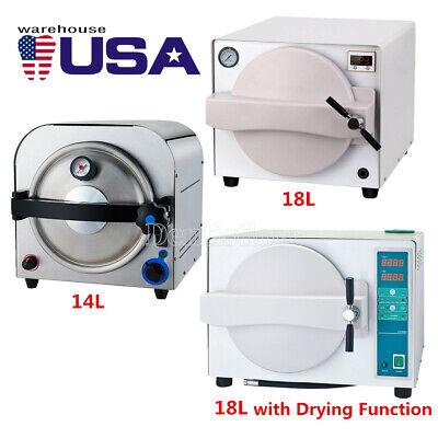 14l18l Dental Autoclave Steam Sterilizer Medical Sterilization Lab Equipment
