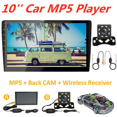10'' 2 Din Android 8.0 Touch Car Stereo WIFI MP5 FM Player Radio bluetooth GPS