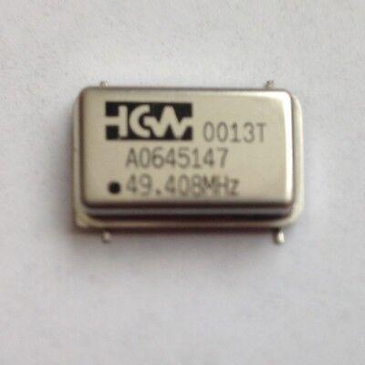 Connor-winfield Crystal Oscillators 49.408 Mhz Smd 2 Pcs