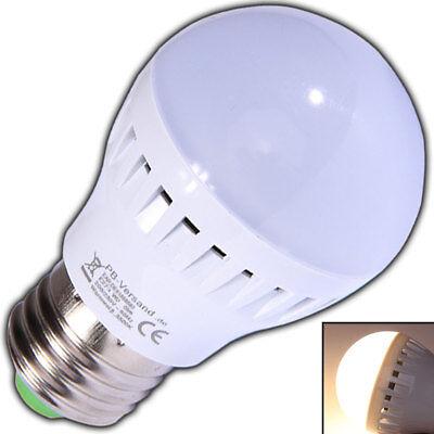 E27 3 Watt LED Glühbirne Birne warmweiß matt Milchglas Leuchtmittel E 27 Sockel - Milchglas Led Birne