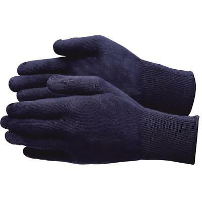 Glove Liner, Thermax Insulating Liner, Lycra, 13 Gauge, Blue, One size fits all