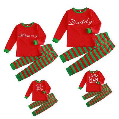 Childrens Christmas Sleepwear (Christmas Family Matching Pajamas Set Adult Mens Womens Kids Sleepwear)
