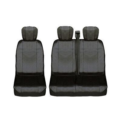 Autositzbezüge für Renault Master III 2010-1Stk Schwarz Schoner Auto Bezug