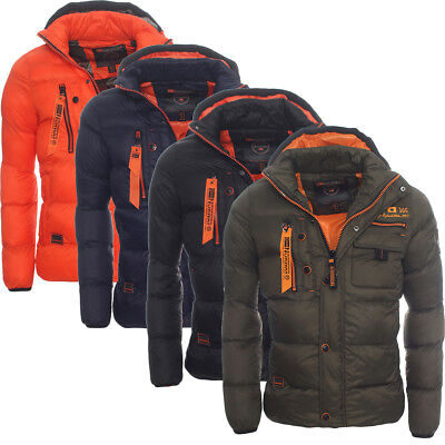 Geographical Norway warme gefütterte Herren Winterjacke Winter Outdoor Jacke WOW ()
