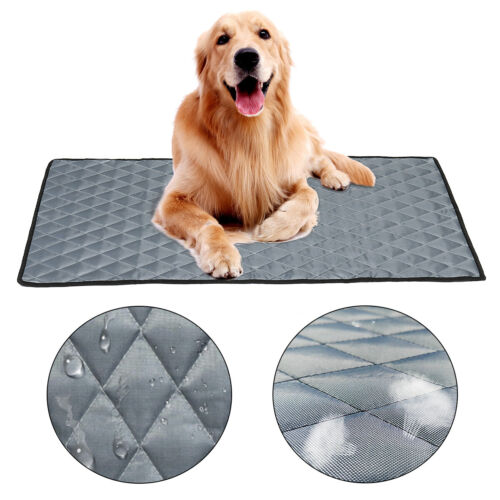M L XL Size Pet Cooling Mat Non-Toxic Cool Pad Pet Bed For S