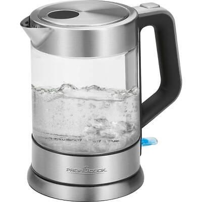 Proficook WKS 1107 G - Hervidor de agua eléctrico con jarra de...