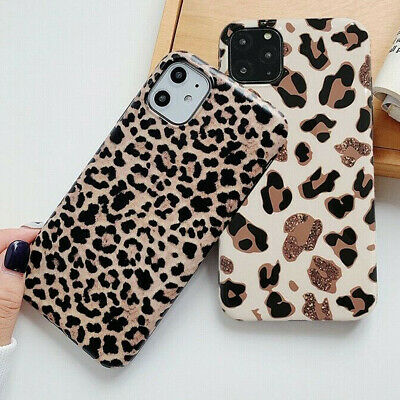 Leopard Print Soft Silicone Phone Case Cover iPhone 11 Pro Max 8 Plus XS Max XR