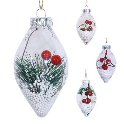 Christmas Tree Pendant Hanging Home Ornaments Christmas Decoration Balls Baubles - Xmas Tree Ornaments