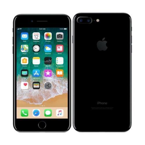 Apple iPhone 7 Plus - Unlocked, AT&T / T-Mobile - 128GB - Jet Black - Smartphone