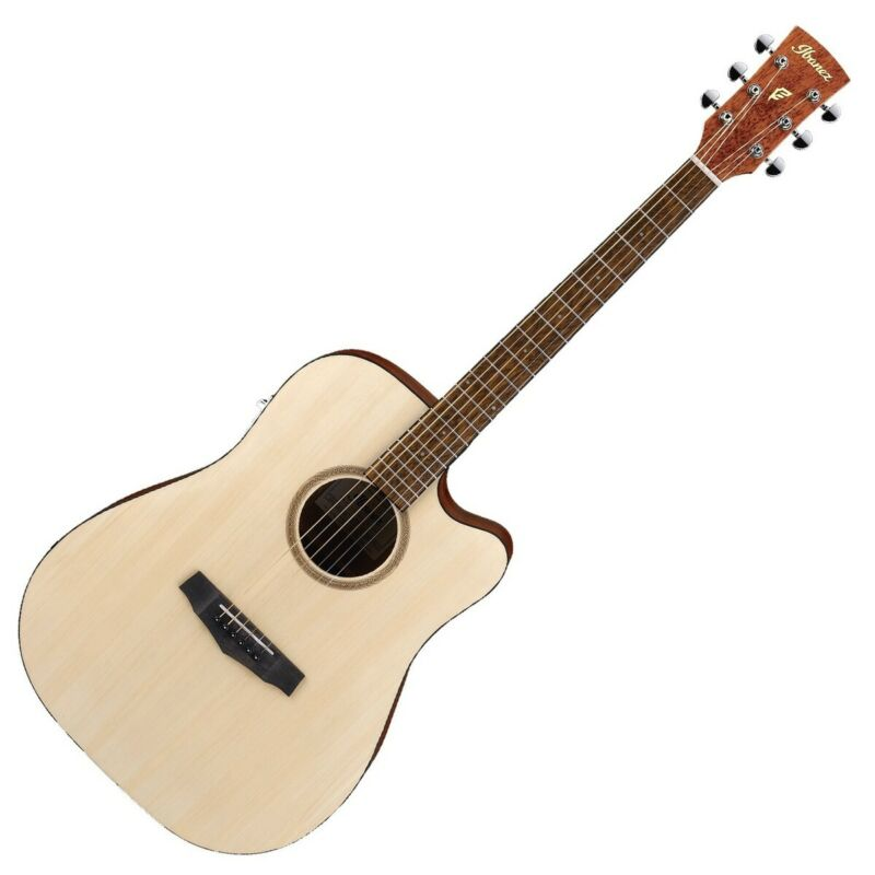 Ibanez PF10CE-OPN Electro Acoustic Guitar, Open Pore Natural