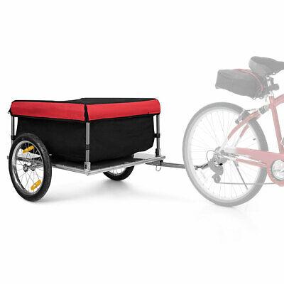 Bike Cargo Versatile Luggage Trailer w Folding Frame Quick Release Wheels