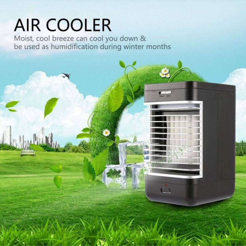 Portable Mini Air Conditioner Bedroom Cooling Cooler Small F