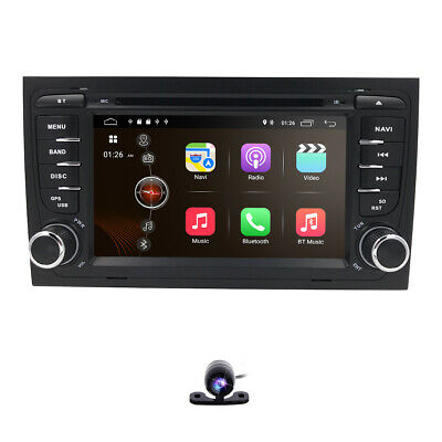 """For AUDI A4 B6 B7 S4 RS4 Android 9.0 7"""" Car DVD GPS Navi Stereo Radio WIFI DSP"""