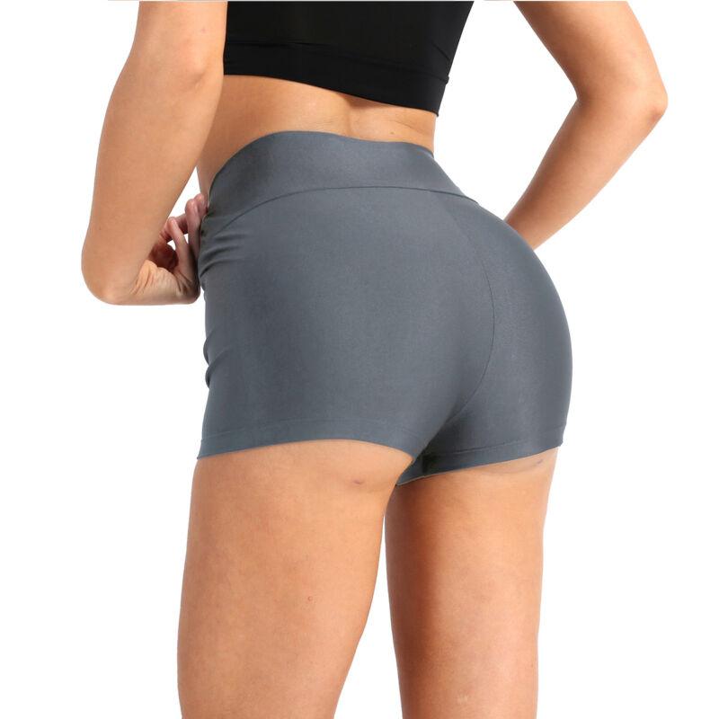Women/'s Seamless Short Pants Solid Sports Underwear Cycling Biker Shorts Trouser