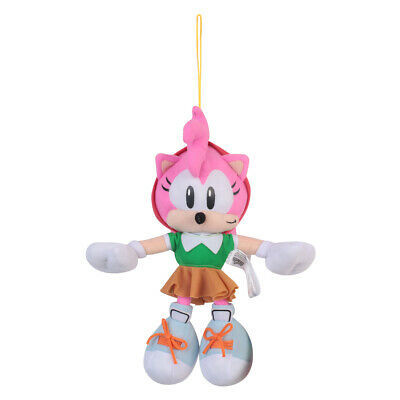 2019 Anime Sonic Amy Rose Pink Plush Doll Figure Best Holiday Gift for Kids
