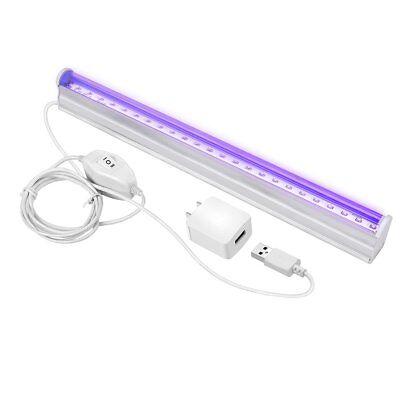 UV LED Black Light Fixtures, Leciel 6W Portable Blacklight L