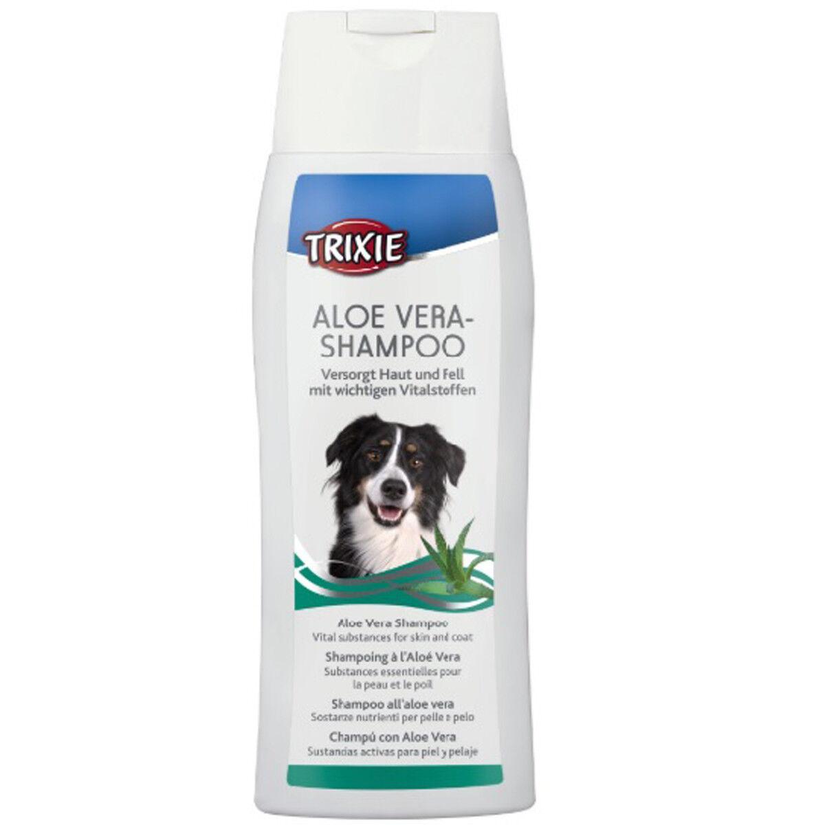 TRIXIE Aloe Vera-Shampoo Hundeshampoo Shampoo für Hunde antibakteriell 2898