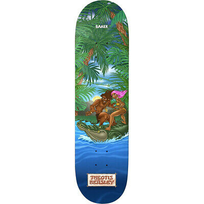 Baker Skateboard Deck Beasley Jungle 8.0' BRAND NEW IN SHRINK