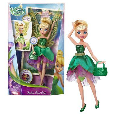 Neu Disney Fairies 22.9cm Deluxe' Tink 'Tinkerbell Mode Twist Puppe Offiziell