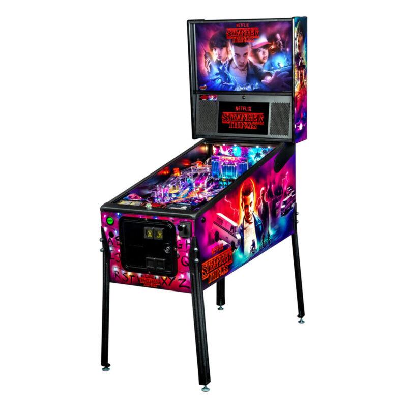 Stern Stranger Things Pro Pinball Machine