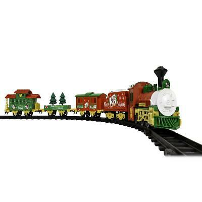 Lionel Mini Mickey Mouse Christmas Express Battery Operated Freight Train Set