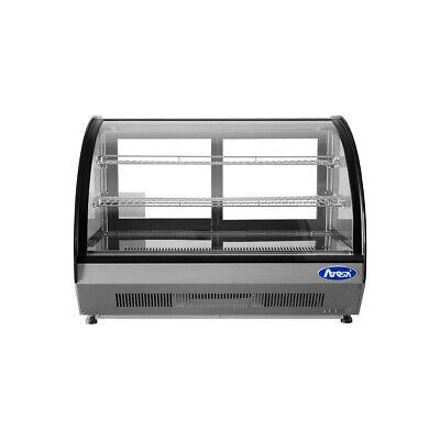 Atosa Usa Crdc-46 35 Full Service Countertop Refrigerated Display Case 2 Sh...