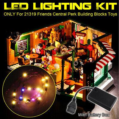 USB LED Light Lighting Kit Fits For LEGO 21319 Friends Central Perk Bricks ₪