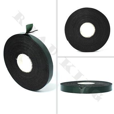 10mm Doppelseitiges Klebeband Schaum Tape Montageklebeband Rolle 5M Schwarz neu