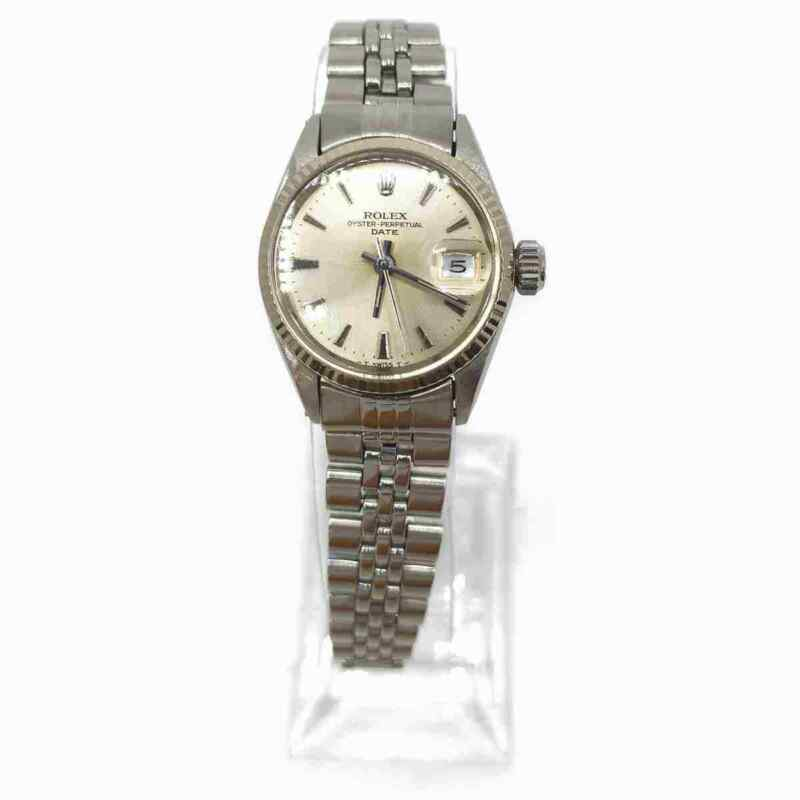 ROLEX Watch operate normally 6617 OYSTER PERPETUAL DATE 24mm Women's  703319