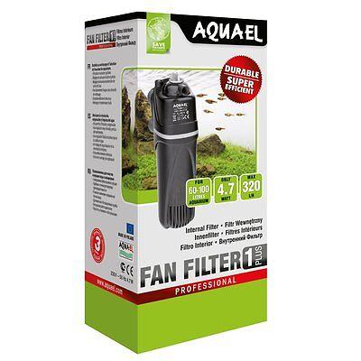 Aqua Plus Wasser-filter (Aquael Innenfilter FAN 1 Plus - Wasserfilter Aquarienfilter Filter Aquarium)