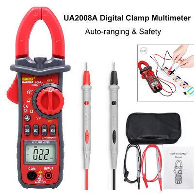 Ua2008a Auto Digital Clamp Meter Multimeter Handheld Rms Acdc Resistance Ys