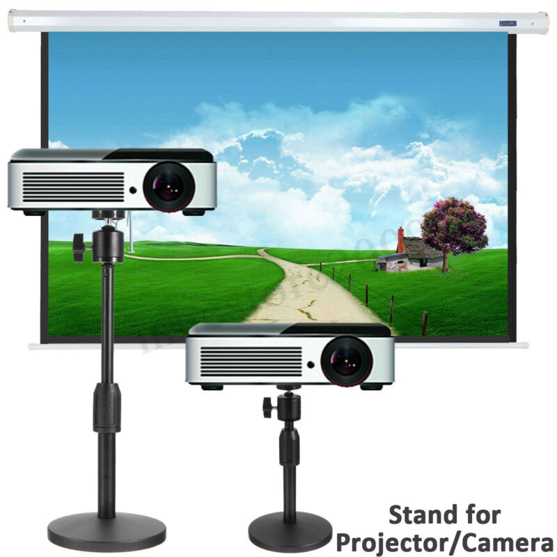 360° Rotate Laptop Projector Stand Heavy Duty Tripod Mount Adjustable  R Z + !