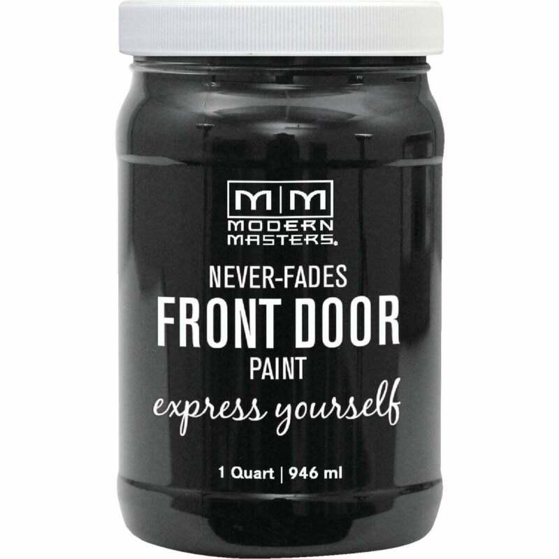 Modern Masters Acrylic Satin Front Door Paint, Elegant, 1 Qt. 275266  - 1 Each
