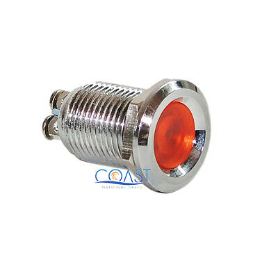 22mm Blue 12V LED Industrial Indicator Pilot Light w//Screw Terminal USA SELLER!