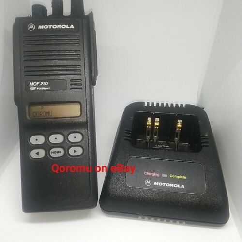 Motorola Flashport MOF230 MTS2000 220 MHz 1.25 Meter Portable Handheld Radio